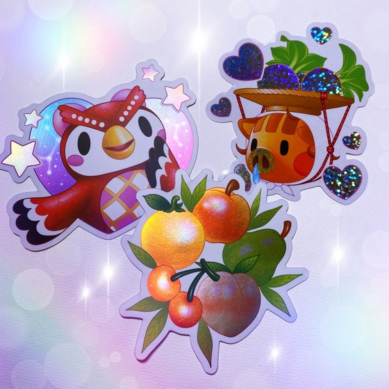 Image of Animal Crossing Sticker Pack