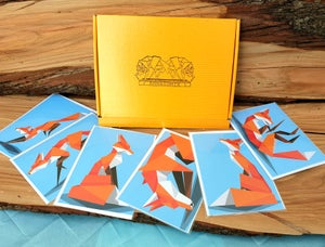 Image of Earth of Foxes gift card pack