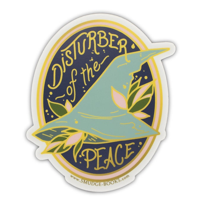 Image of Disturber of the Peace Sticker