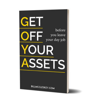 Image of GET OFF YOUR ASSETS (GOYA) BOOK + eWorkbook