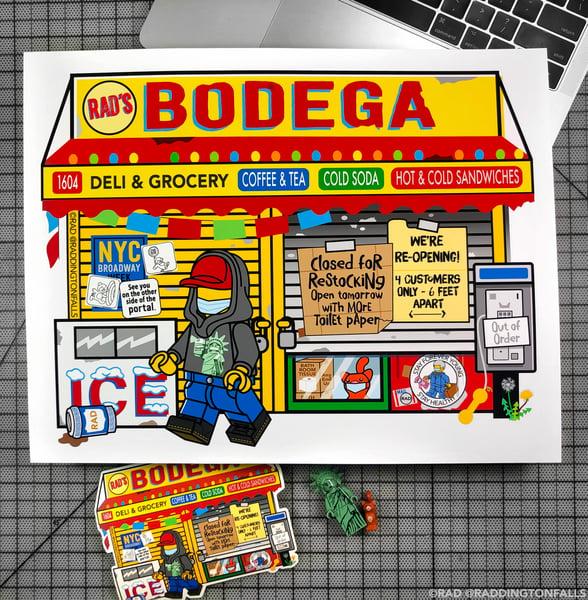 Image of Bodega Corona Giclee Print