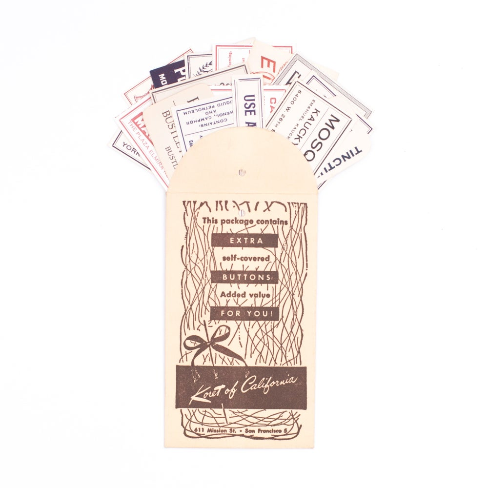Image of Neutral Pharmacy Labels in Brown Envelope