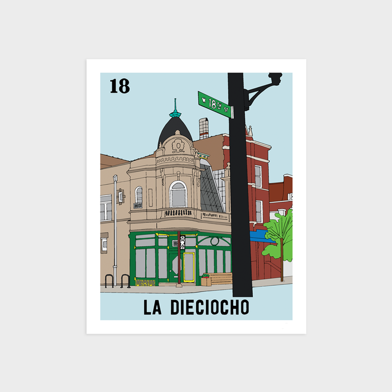 Image of La Dieciocho (misprint)