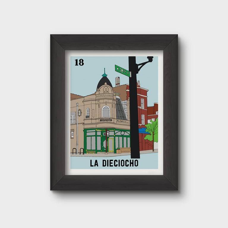 Image of La Dieciocho (misprint)