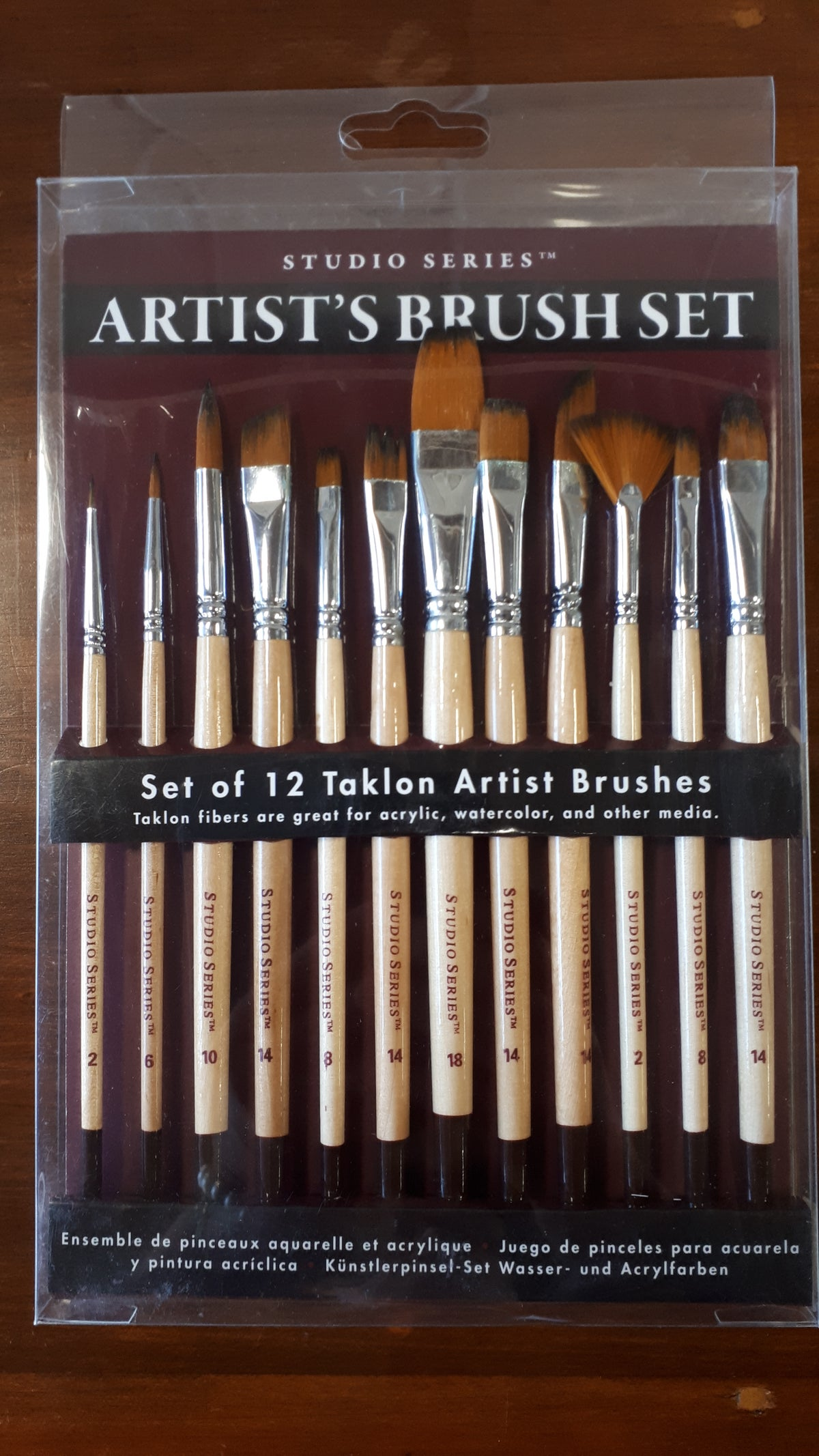 Image of Artist's Paint Brush Set