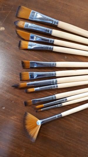 Image of Artist's Paint Brush Set