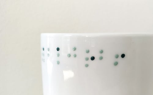 Image of Pot collection Braille