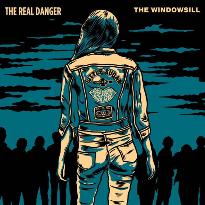 Image of Real Danger/Windowsill Split 7""