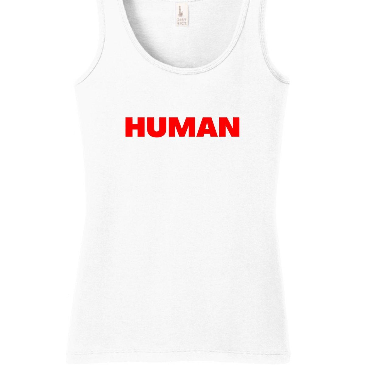 Image of HUMAN tank top | LADIES
