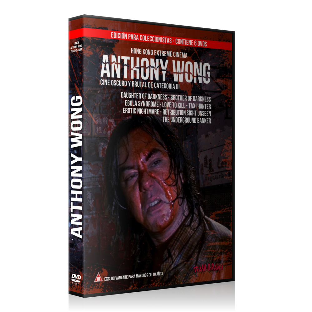 Image of Pack 6 DVD HK Extreme Anthony Wong