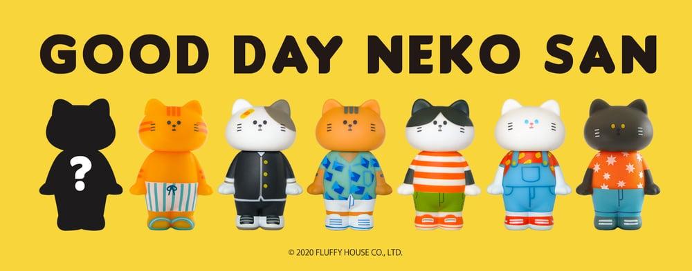 Image of Good Day Neko San Blind Box Series 1 (Whole Set)