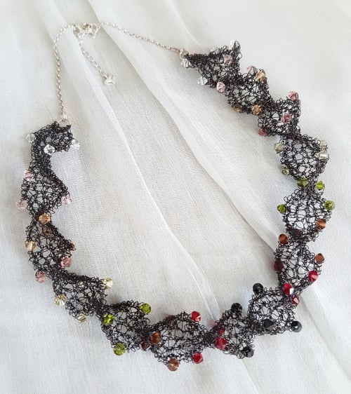 Image of SPIRAL Necklace - Earth