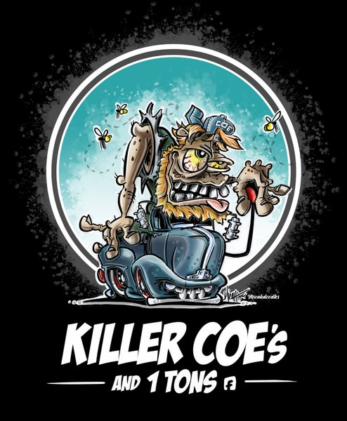 Image of KILLER COES AND 1 TONS