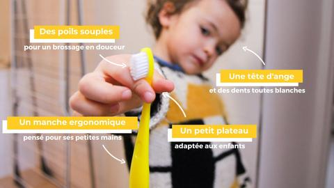 Image of Brosse à dents pour enfants Caliquo