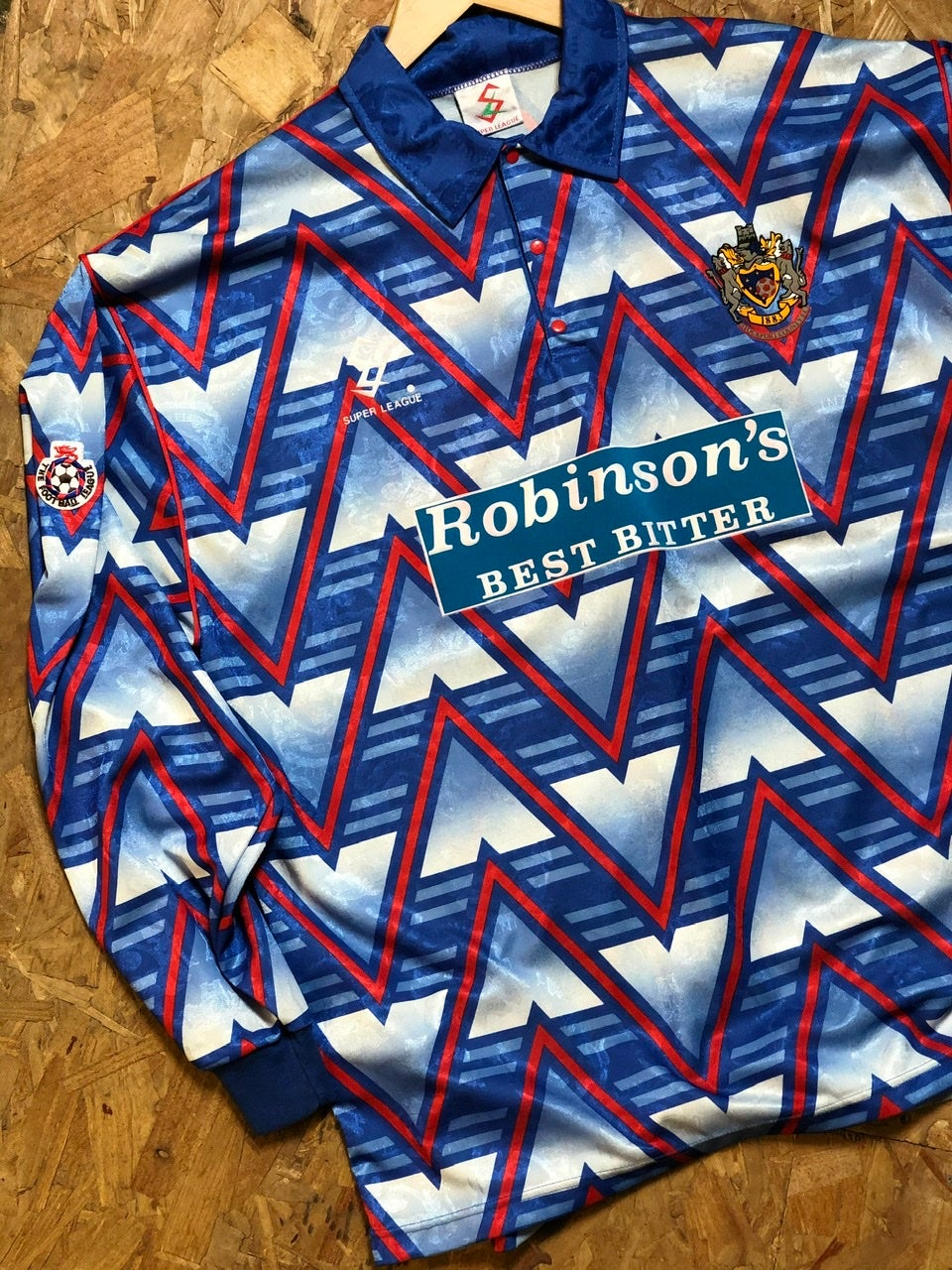 Player Issue 1993/94 Super League Home Shirt
