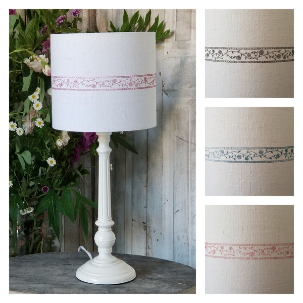 Image of Board Print Lampshade - Small