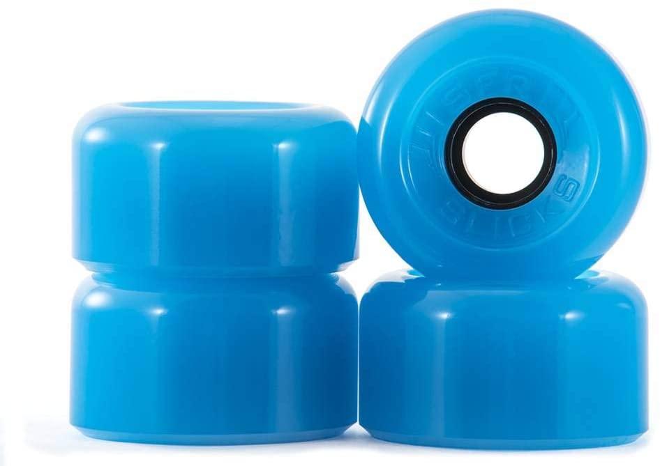 Image of SFR Slick Outdoor Quad Skate Wheels - Blue