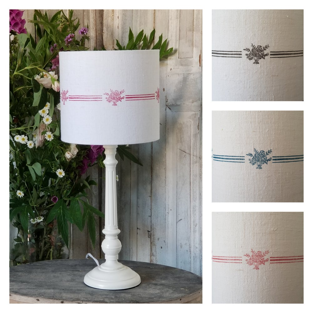 Image of Ticking Urn Printed Lampshade - Shade