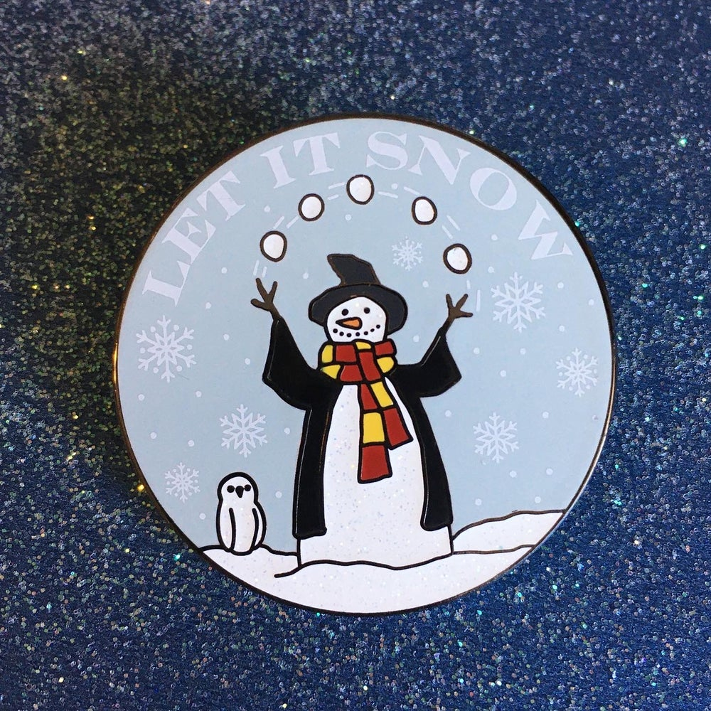 Image of Let it Snow Pin