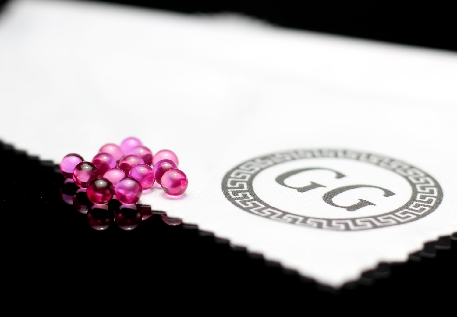 Image of 5mm Rose Pink Sapphire Terp Ball