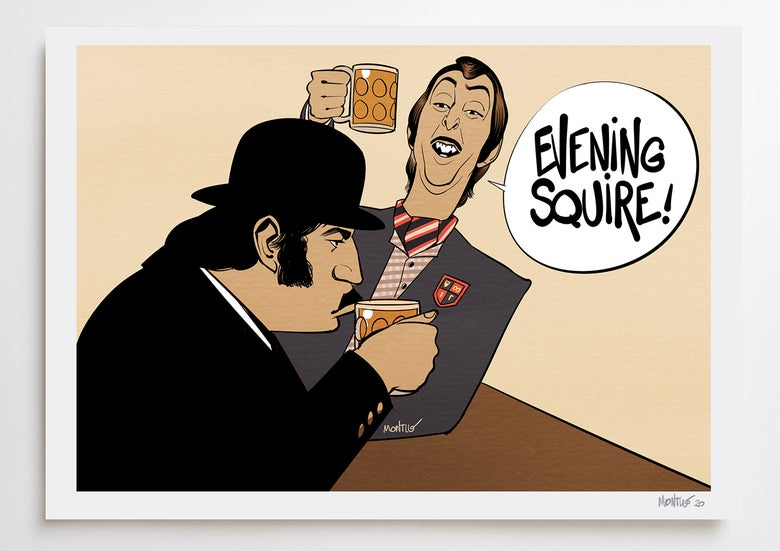 Image of Evening Squire! A3 PRINT