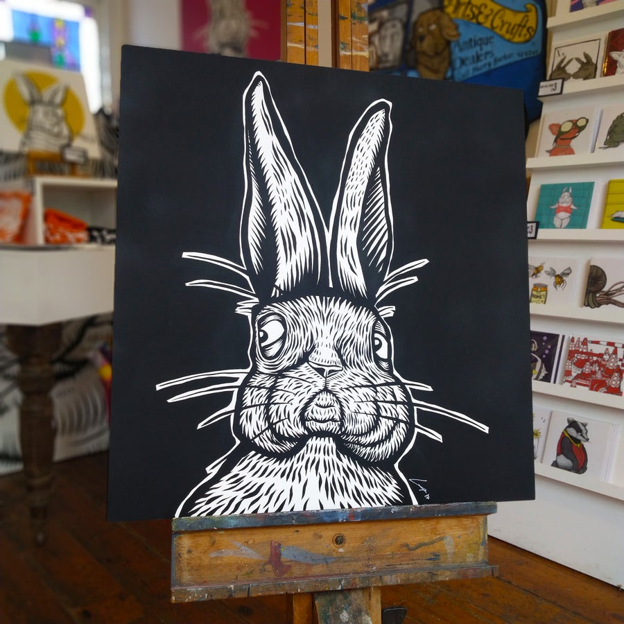 Image of Rampant Rabbit Original Painting