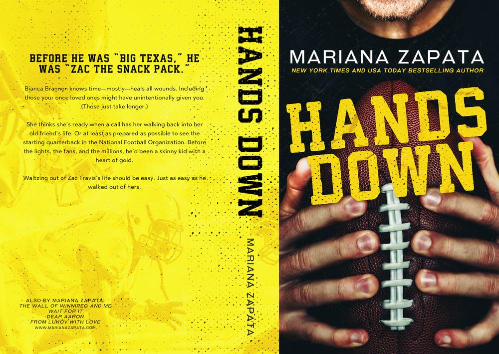 "Image of *PRE-ORDER* Signed Paperback ""Hands Down"""