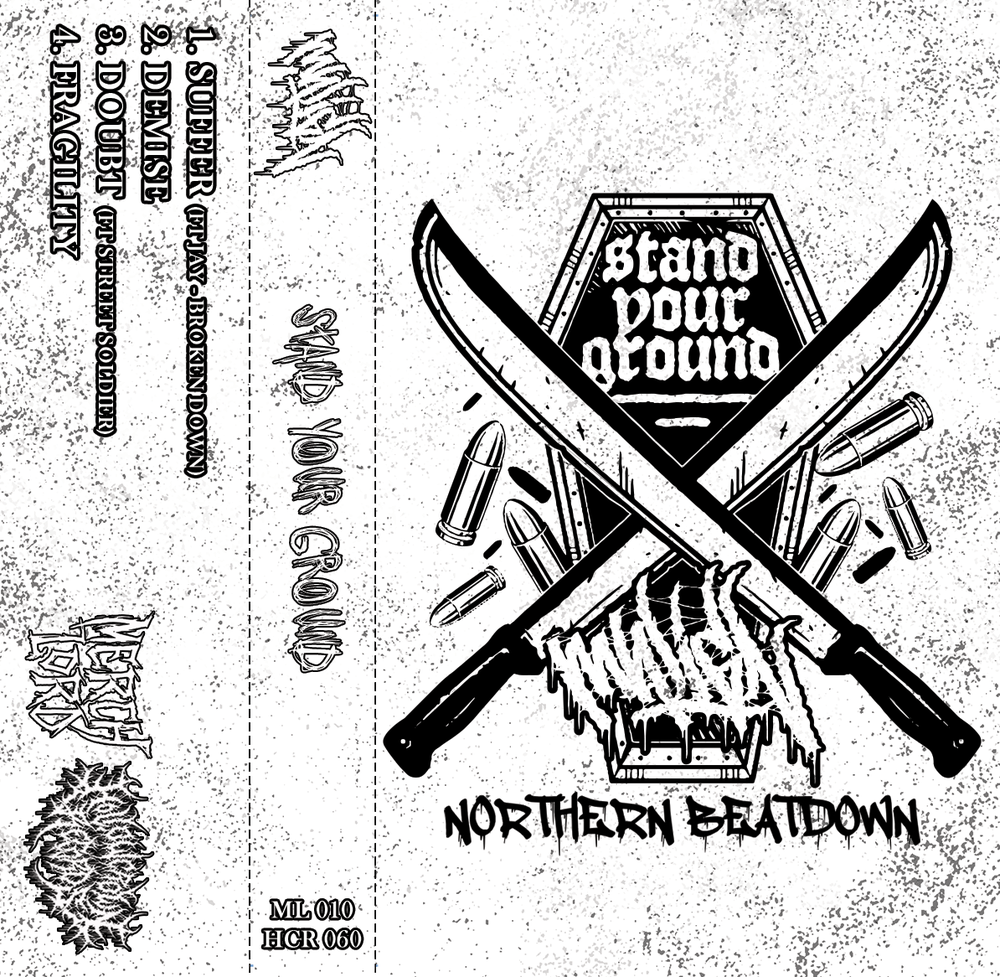 Image of Malign UK - Stand Your Ground - Ltd Edition Cassette /25 *PRE-ORDER*
