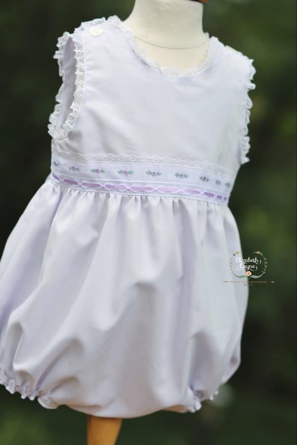 Image of 2T Lavender English Bud Princess Bubble