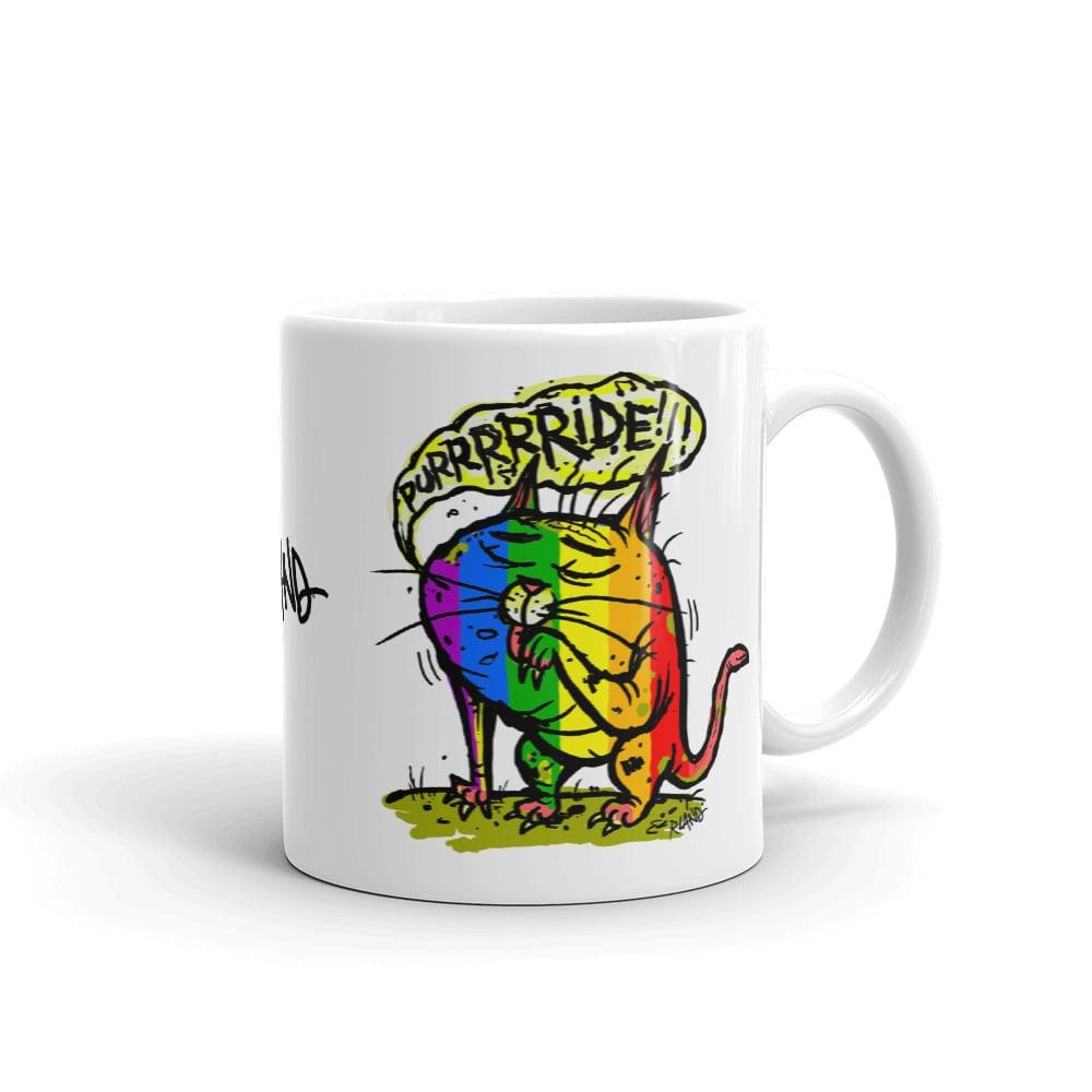 Image of PURRRRRIDE Cat Mug