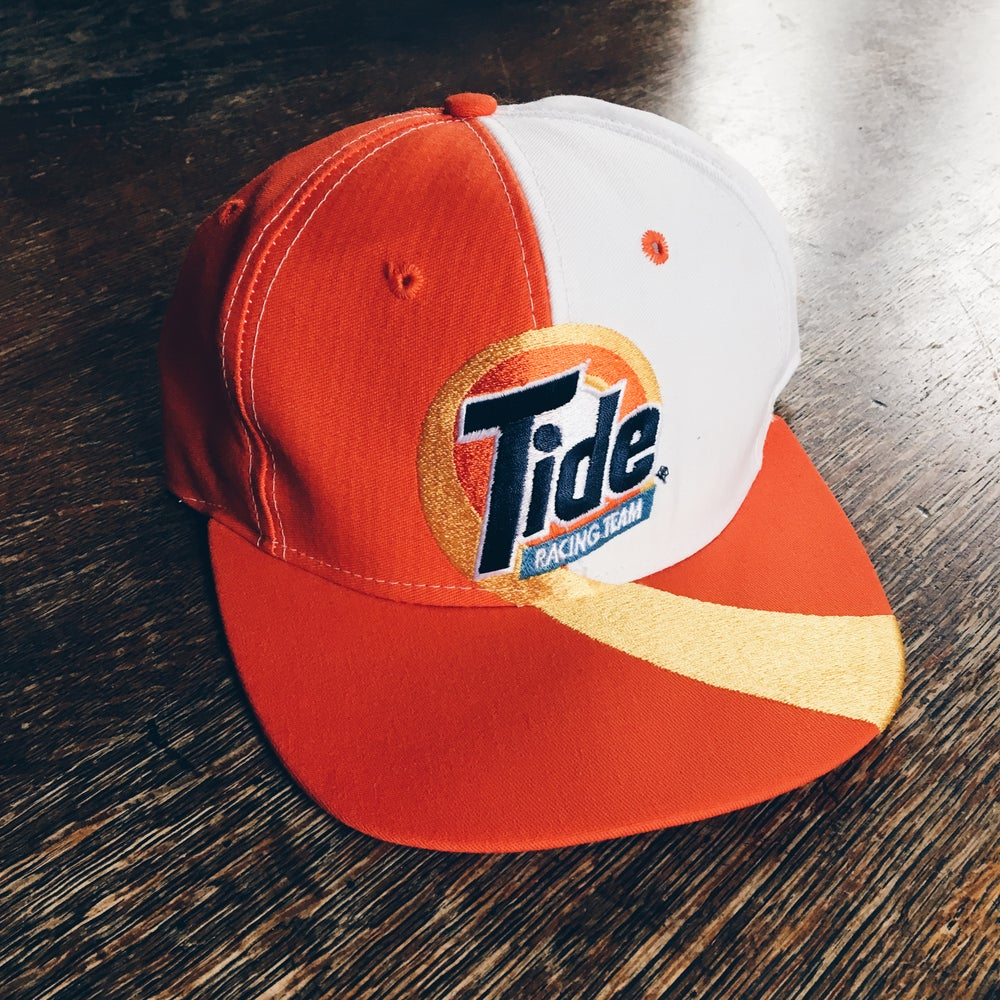Image of Original 90's Tide Racing Snapback Hat