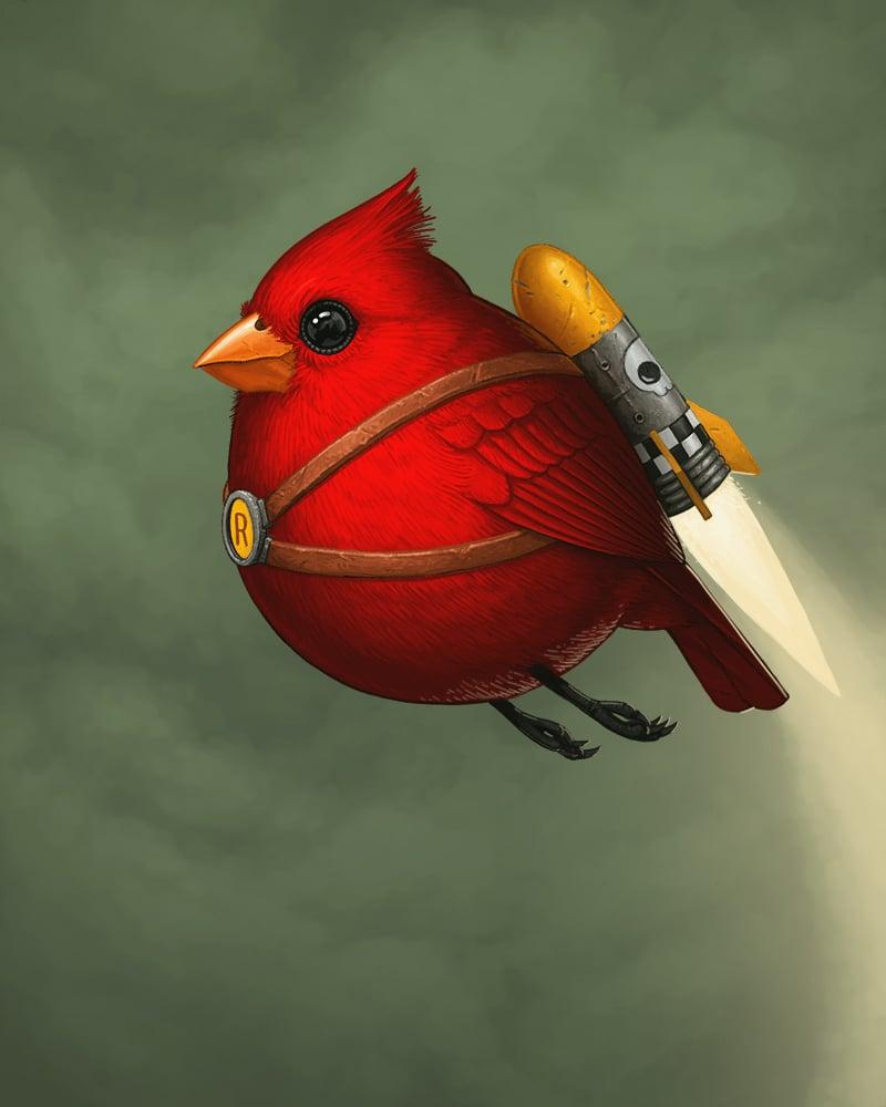 Image of Fat Rocketbird (variant)