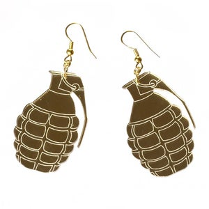 Image of Grenade Earrings
