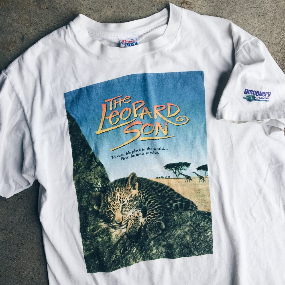 Image of Original 1996 The Leopard Son Promo Tee.