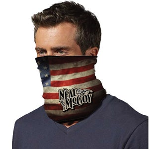 Image of Neal McCoy American Flag Gaiter Mask
