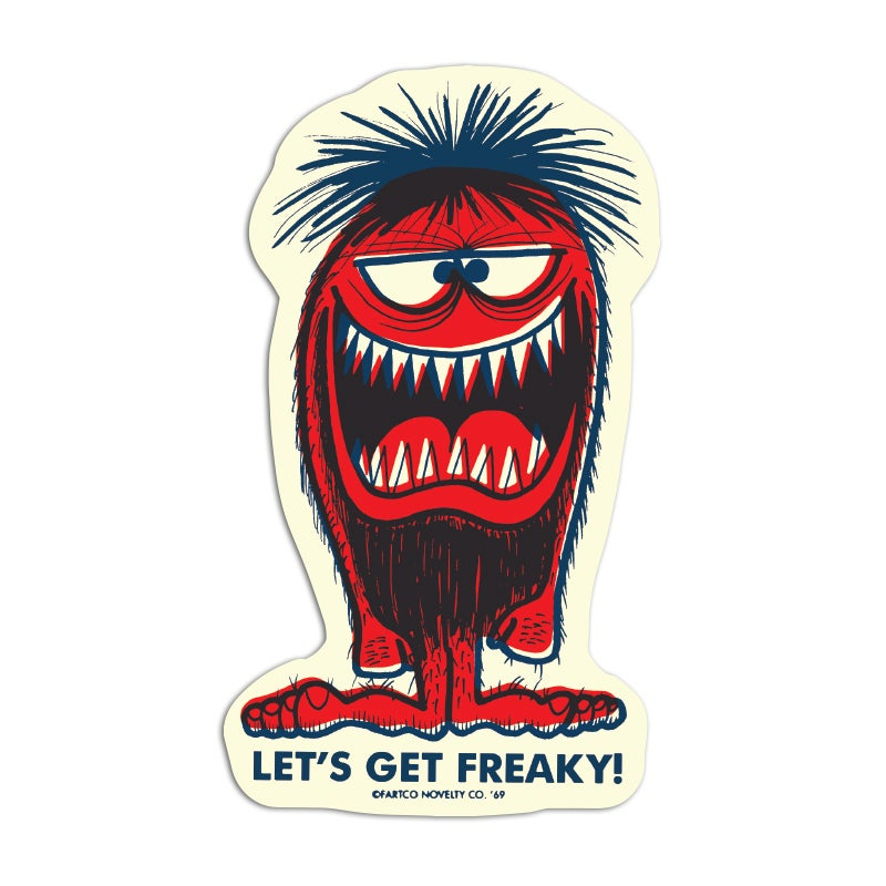 Image of Freaky Sticker