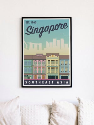 Image of Singapore Southeast Asia Poster