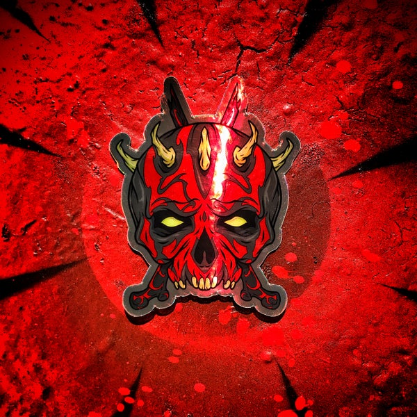 Image of Maul holographic sticker