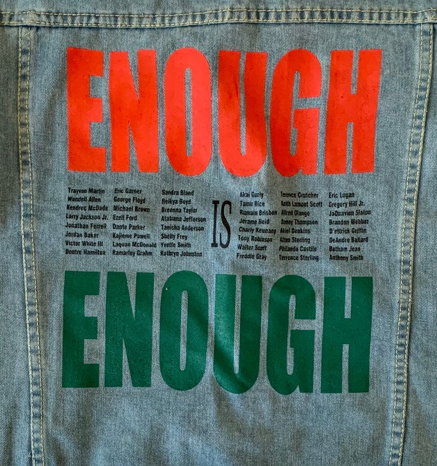 Image of Enough Denim Jacket