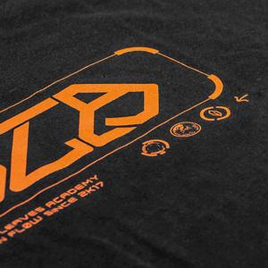 Image of T-Shirt ALIEN FLOW (orange)