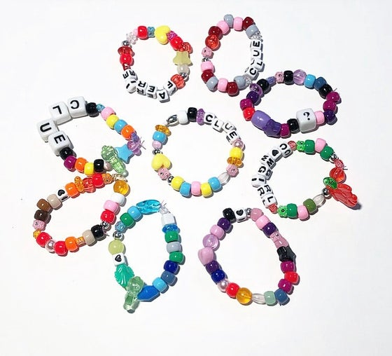 Image of DO YOU BELIEVE IN FAERIES FRIENDSHIP KANDI BRACELETS