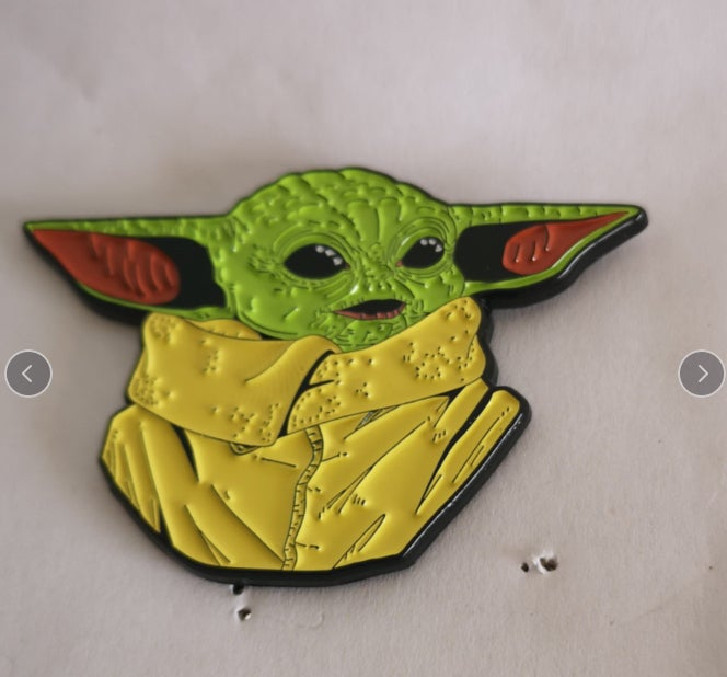 """Image of The Child 2.5"""" Bust Series Lapel Pin #5 In Series"""