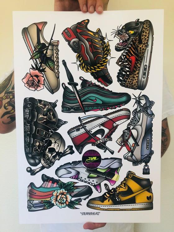 Image of Sneakerhead Art Print