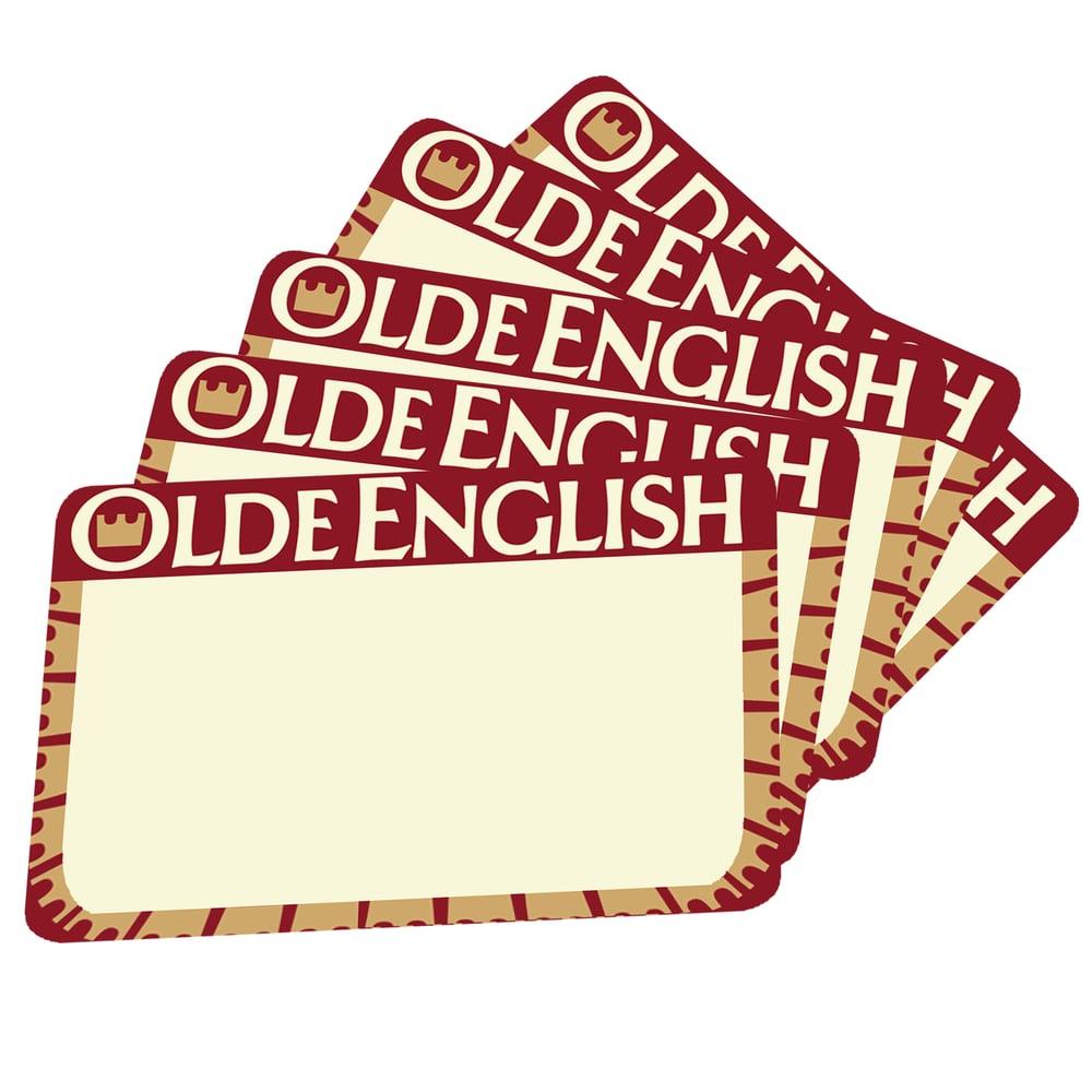 Image of Olde English Blanks