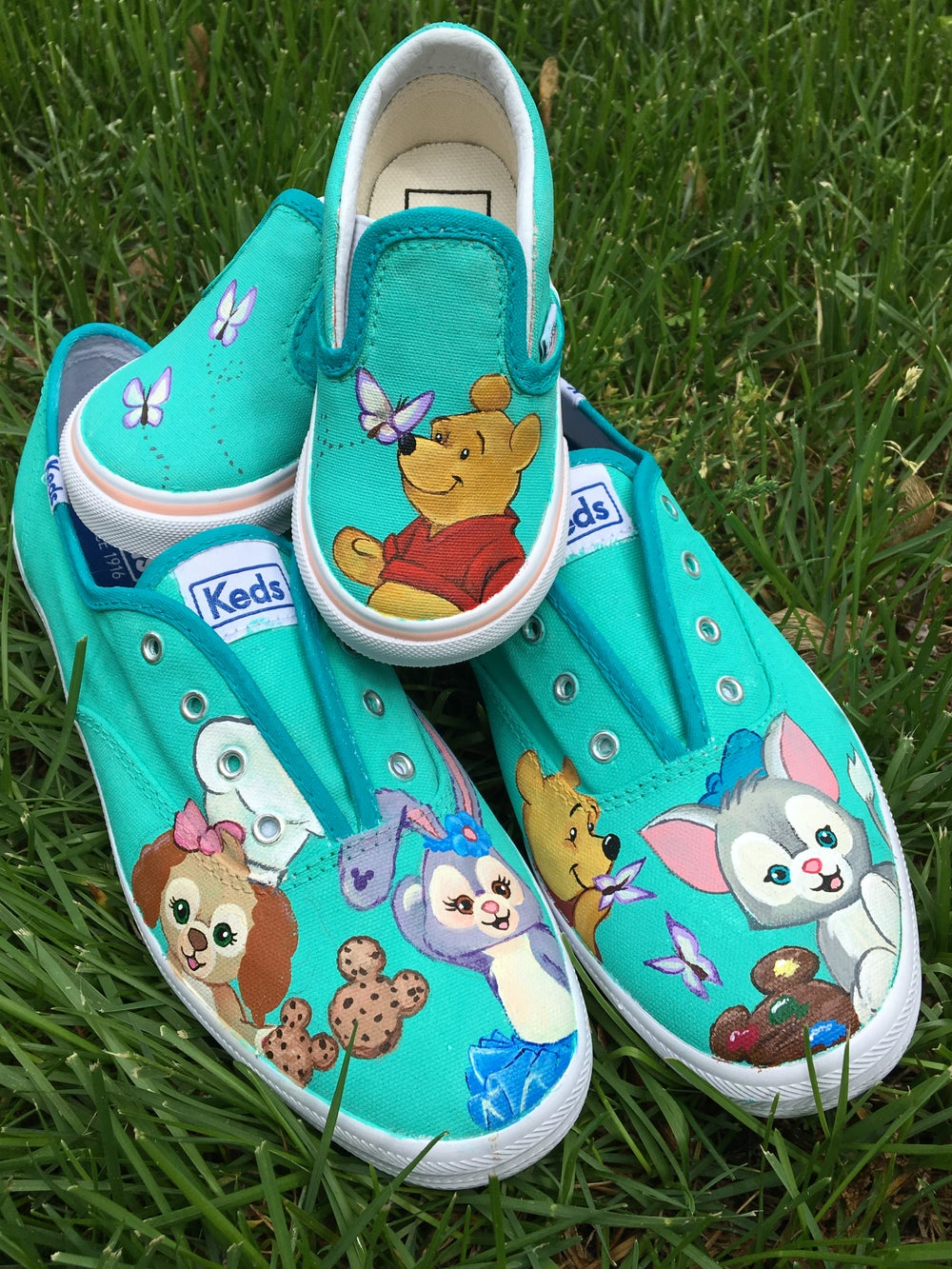 Custom Painted Shoes Vans, Keds or Converse (Toe area only)