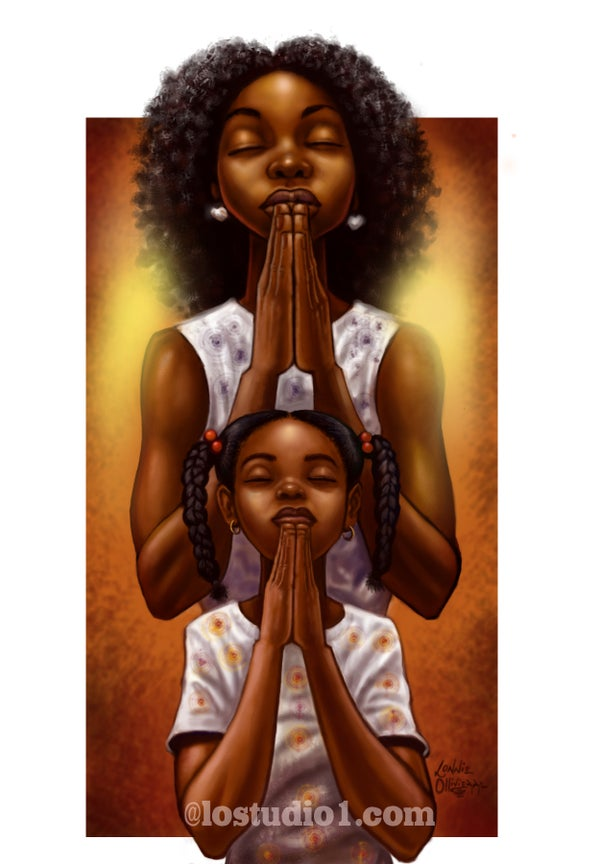 """Image of """"IN U WE PRAY""""II"""