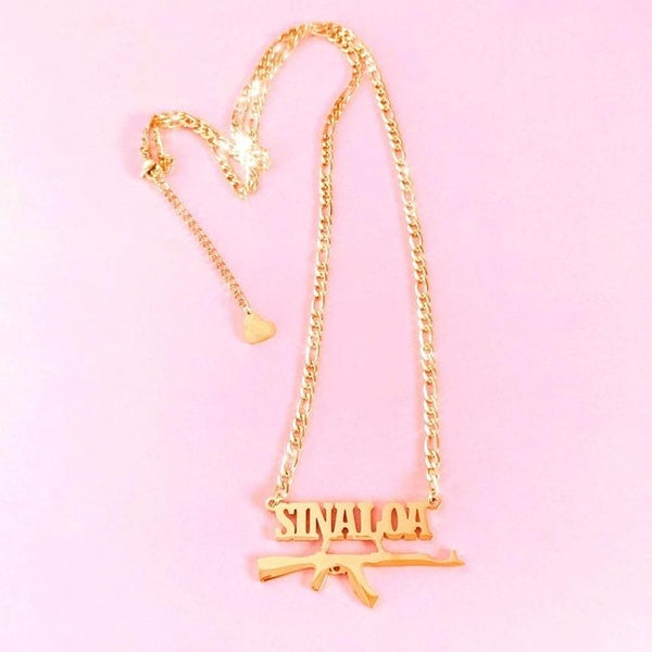 "Image of ""Sinaloa"" Necklace GOLD"