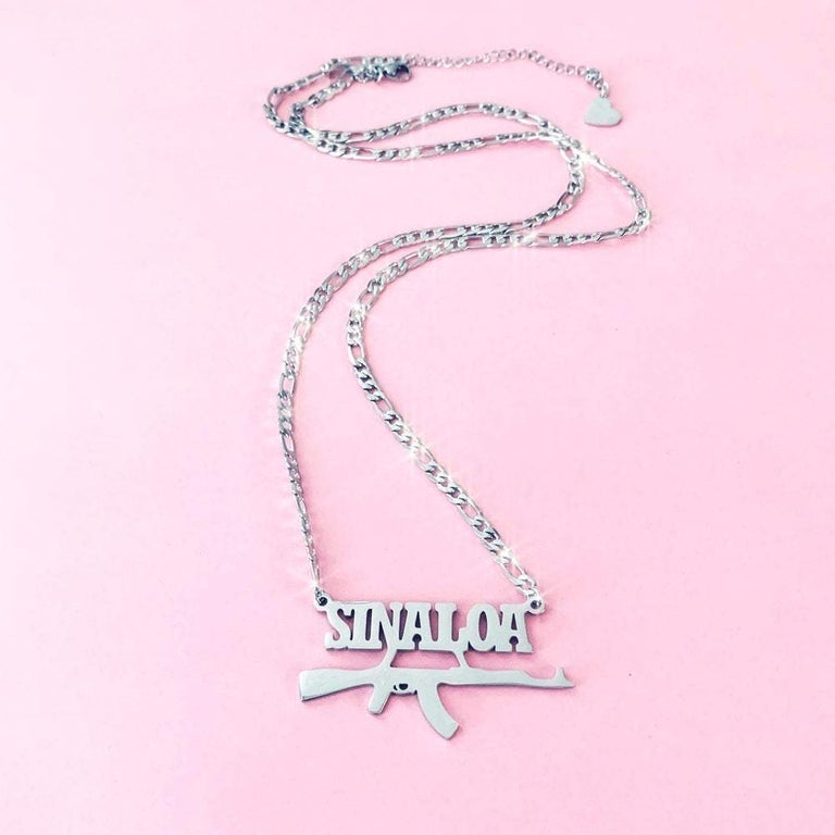 "Image of ""Sinaloa"" Necklace SILVER"