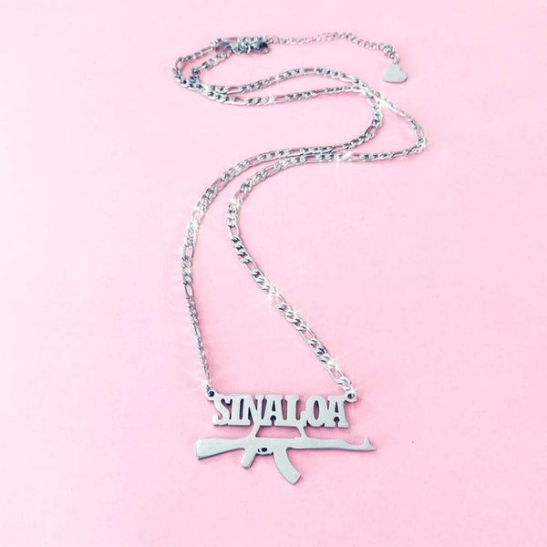 "Image of ""Sinaloa"" Necklace SILVER"