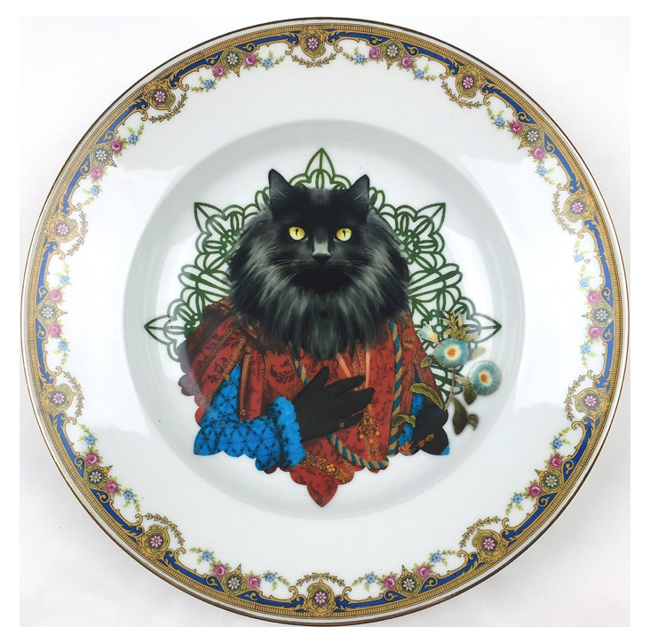 NORWEGIAN LORD PORCELAIN PLATE